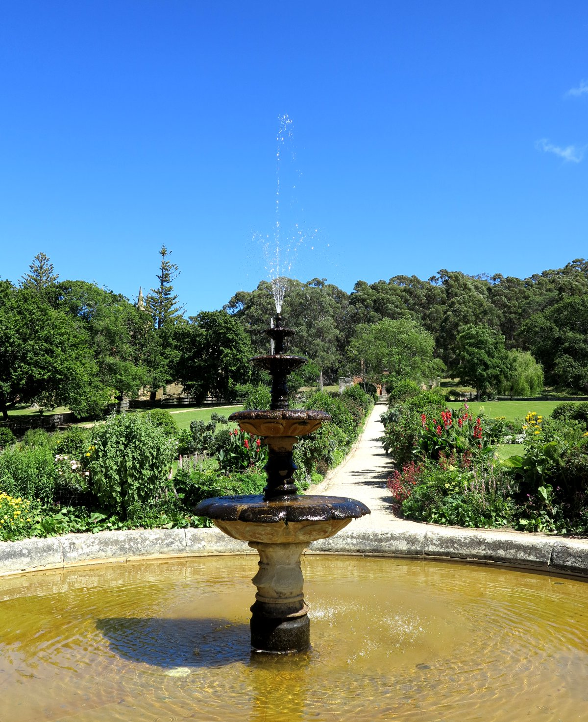 Port Arthur garden Double-Barrelled Travel