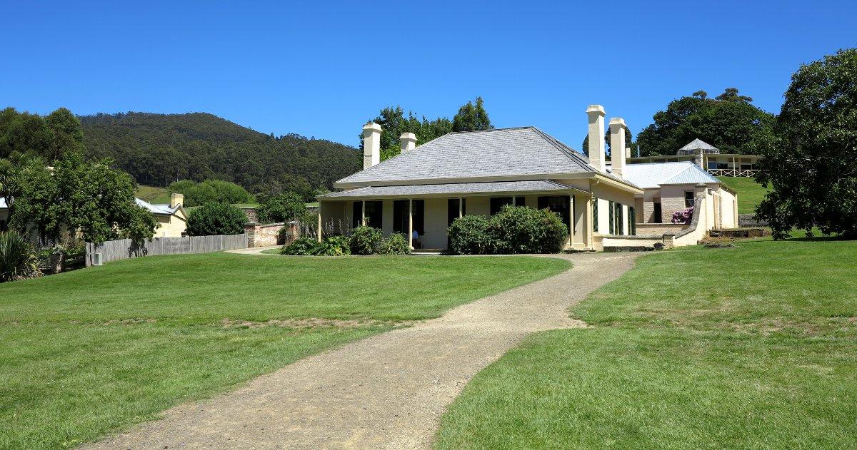 Port Arthur haunted house Double-Barrelled Travel