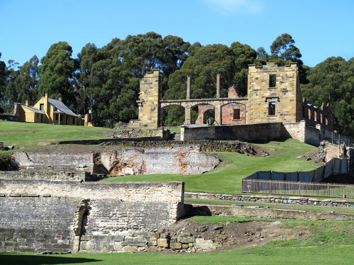 Port Arthur historical building Double-Barrelled Travel