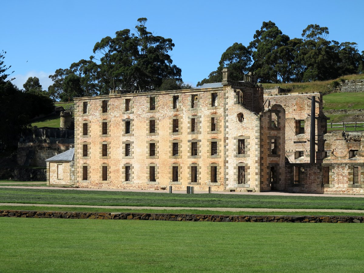 Port Arthur historical building