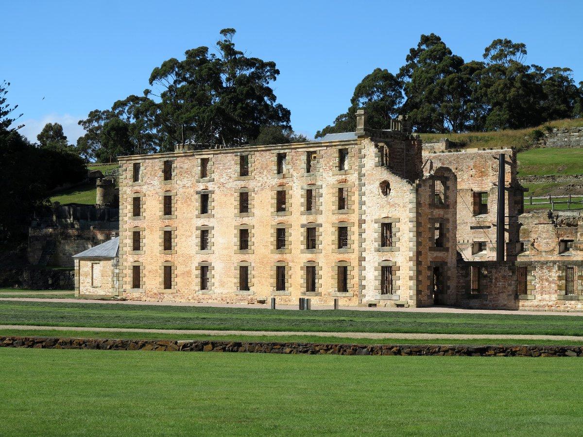 Port Arthur historical building