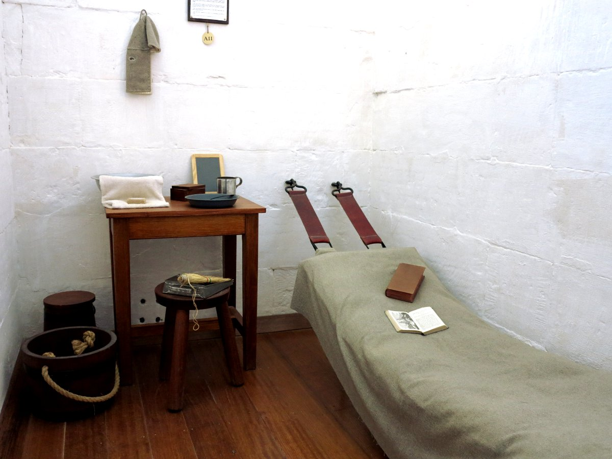 Port Arthur prison cell Double-Barrelled Travel