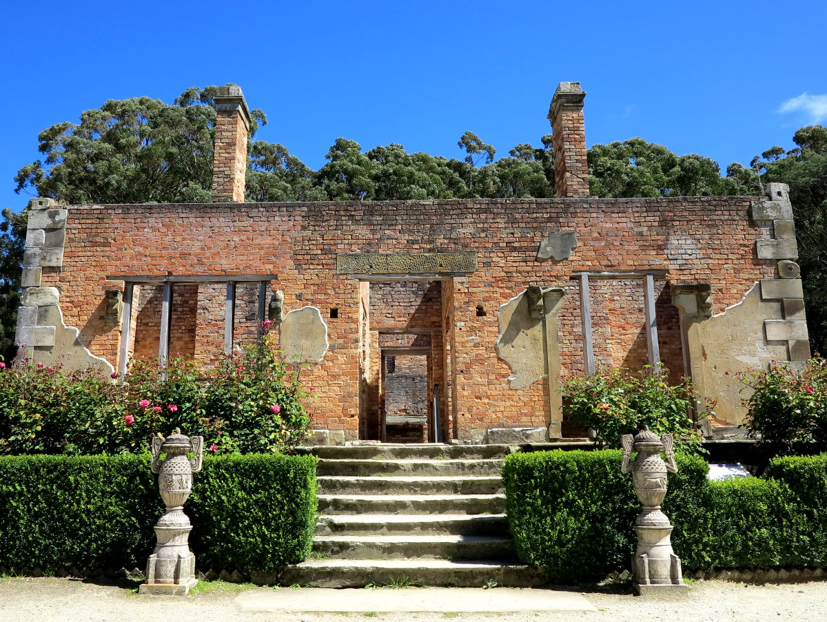 Port Arthur ruins Double-Barrelled Travel