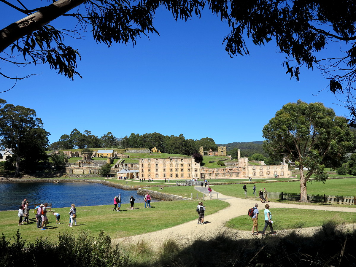 Port Arthur walking trails Double-Barrelled Travel