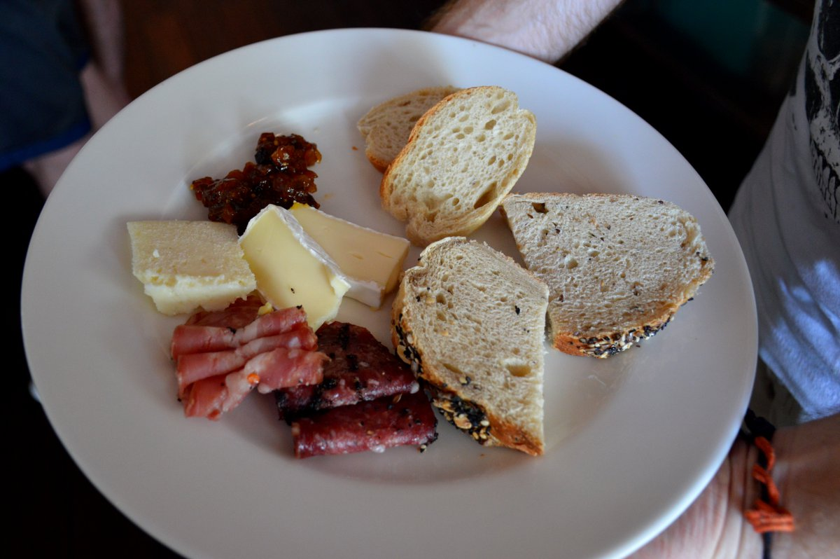 Cheese plate at W Retreat Sunday Brunch Bali Double-Barrelled Travel