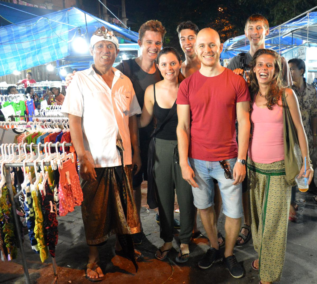 Gianyar market Bali Double-Barrelled Travel