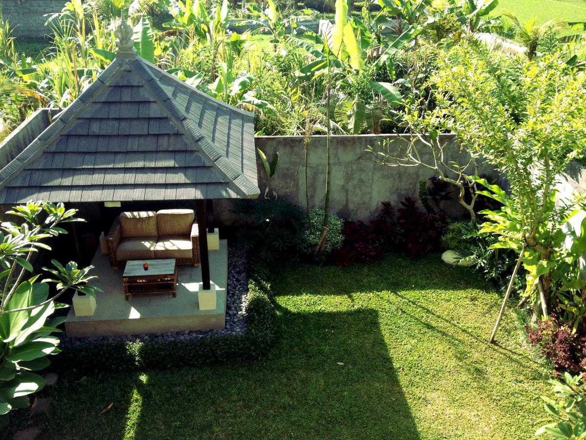 Luxury villa garden Ubud Double-Barrelled Travel