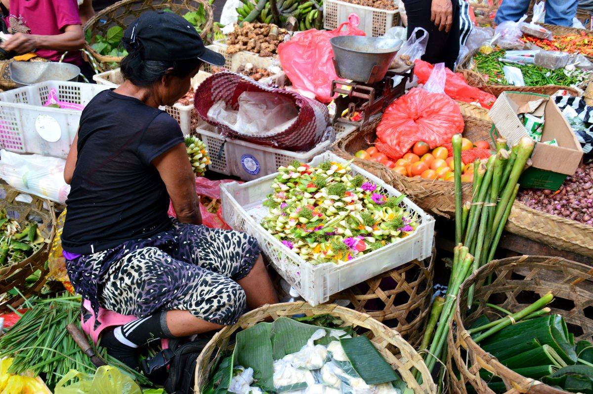 Ubud market Double-Barrelled Travel