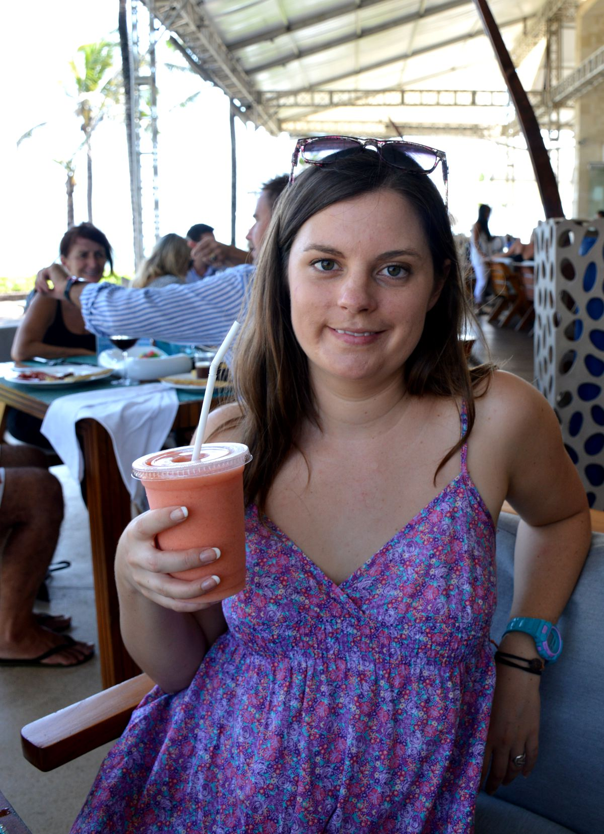 W Retreat fresh juice Bali Double-Barrelled Travel