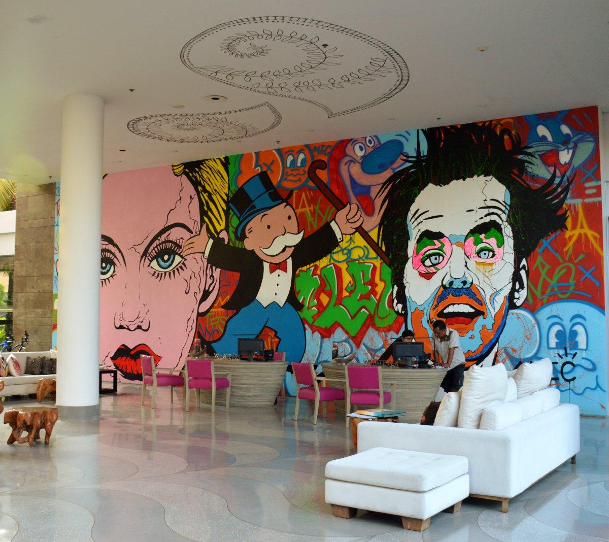 W Retreat lobby Bali Double-Barrelled Travel