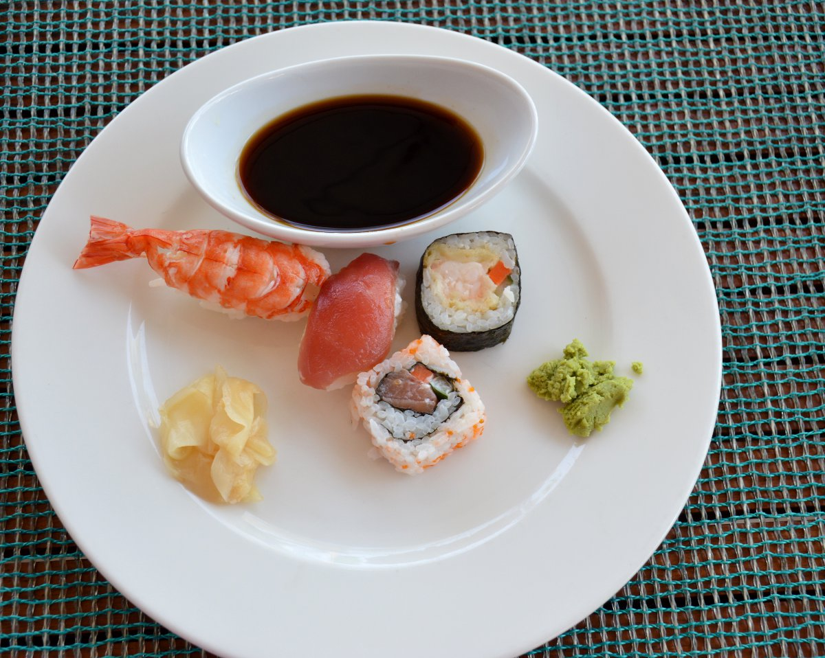 W Retreat sushi Bali Double-Barrelled Travel