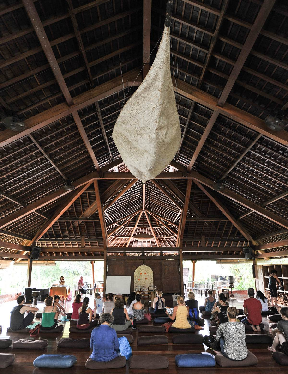 Yoga Barn Ubud Double-Barrelled Travel