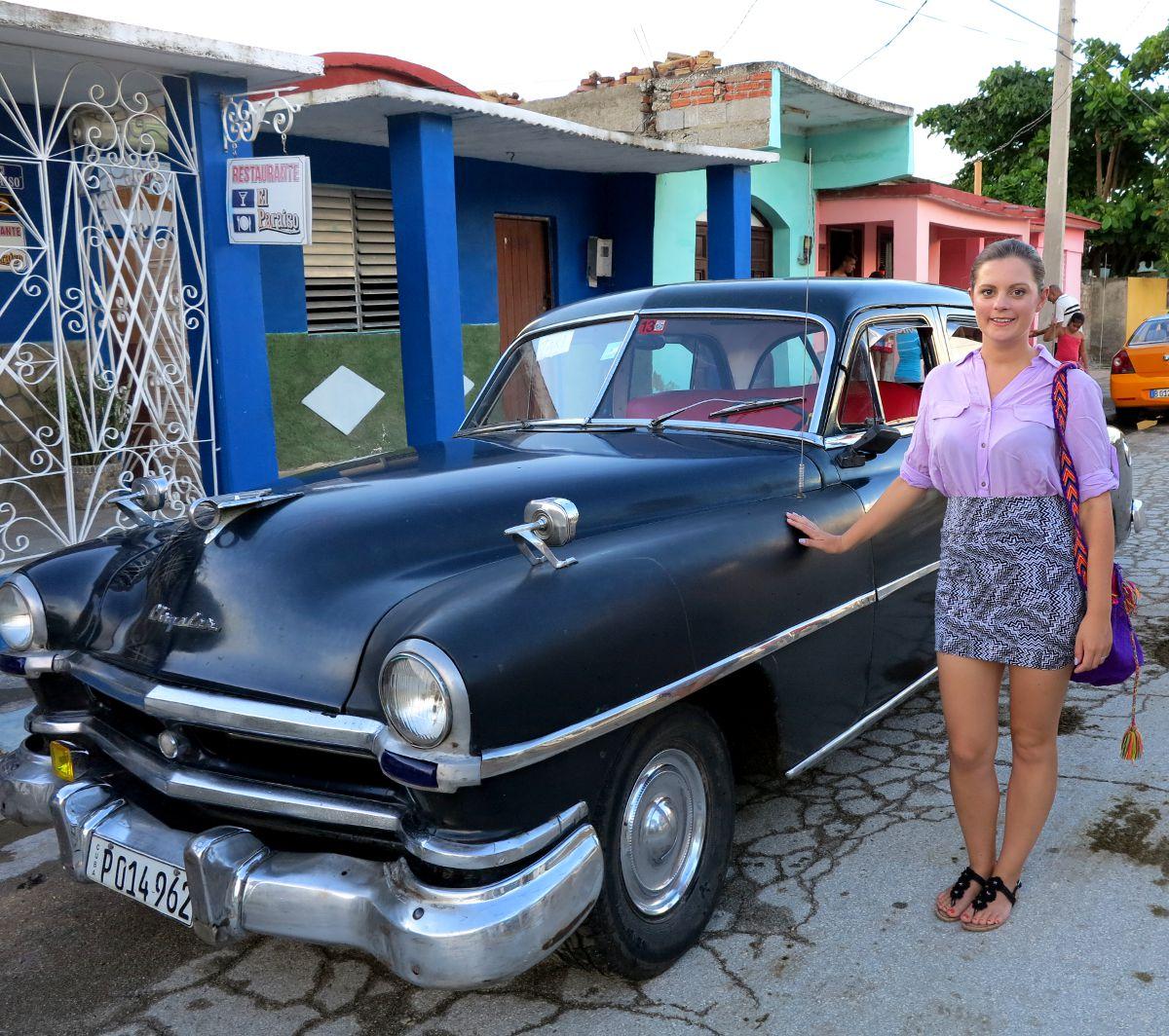 Carmen Cuba Double-Barrelled Travel