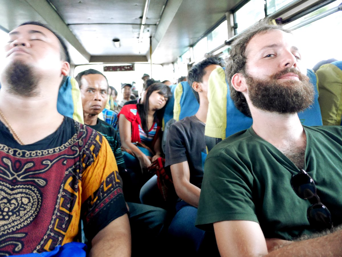 Horror bus to Java from Bali Double-Barrelled Travel
