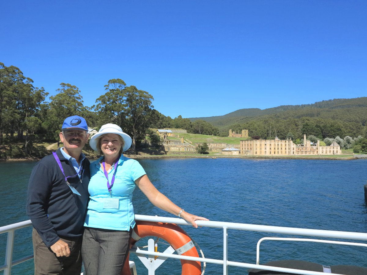 Mum and dad Port Arthur Double-Barrelled Travel