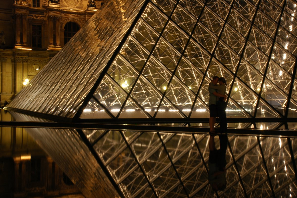 The Louvre Paris Pug Girl on Flickr Double-Barrelled Travel