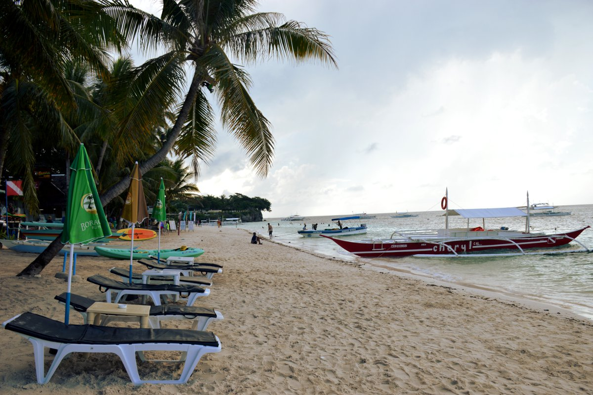 Alona Beach Philippines Double-Barrelled Travel