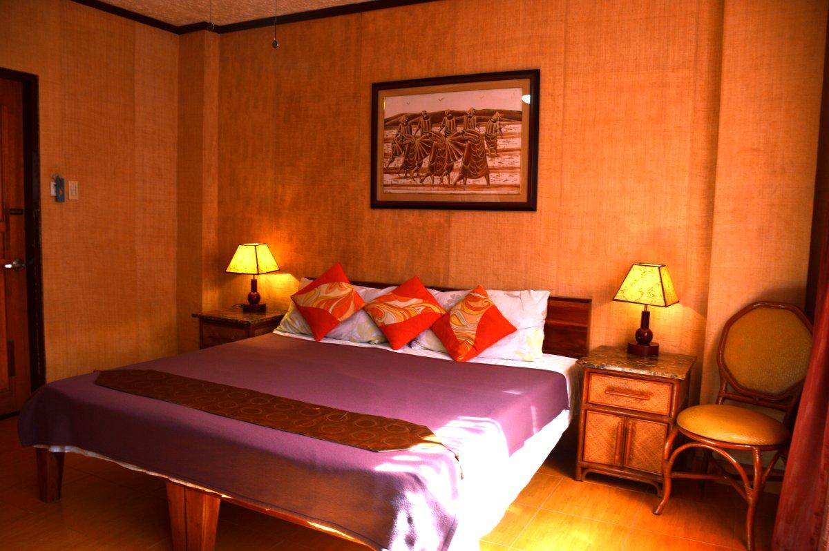 Bedroom Hayahay Philippines Double-Barrelled Travel