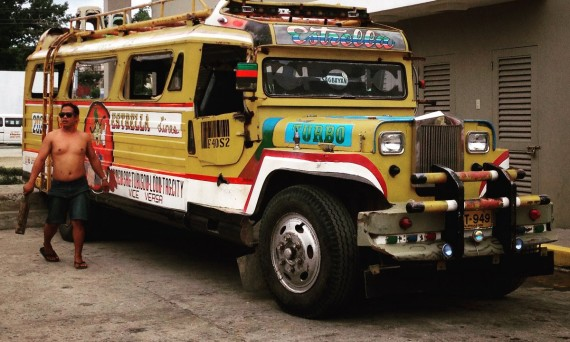 Bus Philippines Double-Barrelled Travel