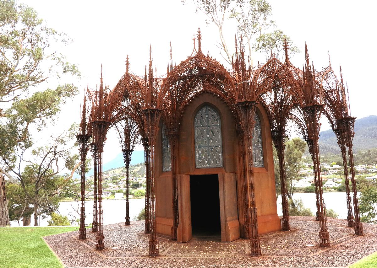 Chapel MONA Tasmania Double-Barrelled Travel