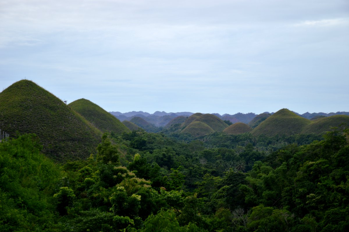 Chocolate Hills Philippines Double-Barrelled Travel
