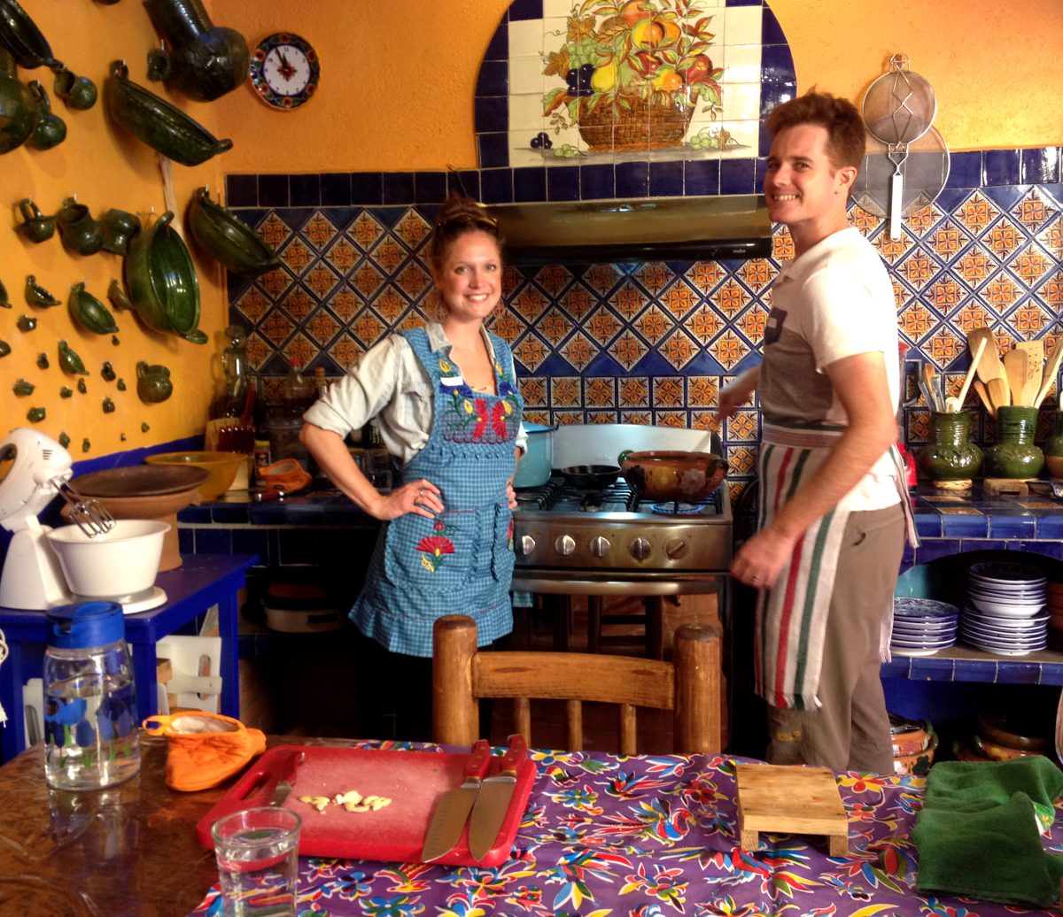 Cooking class Oaxaca Mexico Double-Barrelled Travel