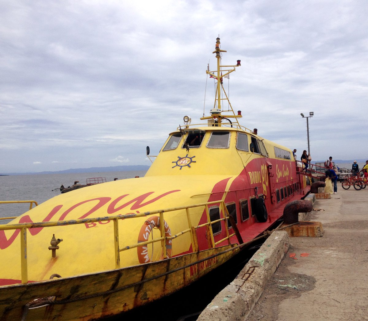 Ferry Philippines Double-Barrelled Travel
