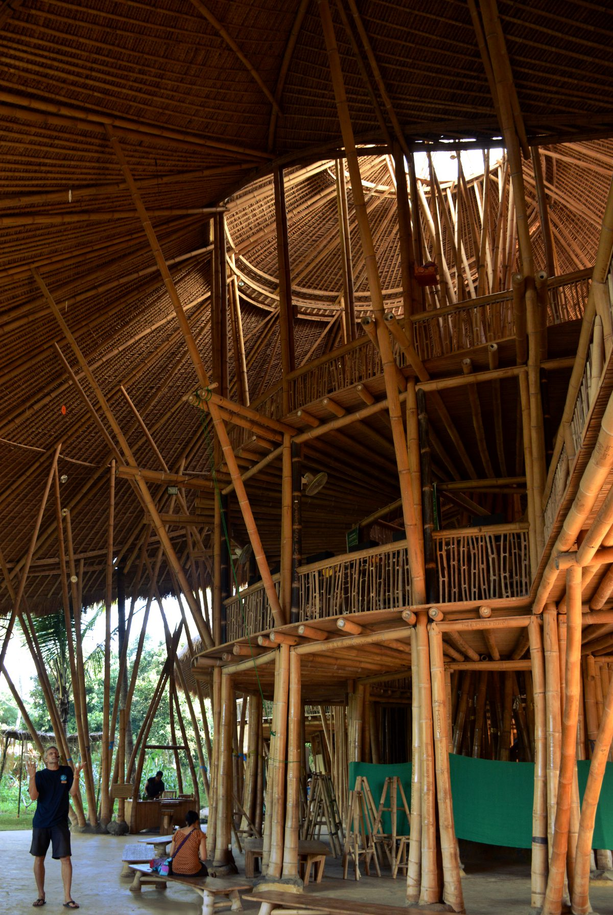 Green school Bali Double-Barrelled Travel
