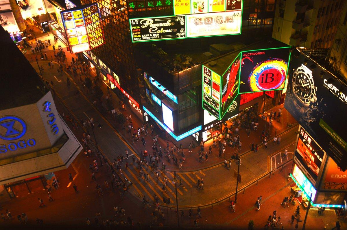 Hong Kong Double-Barrelled Travel