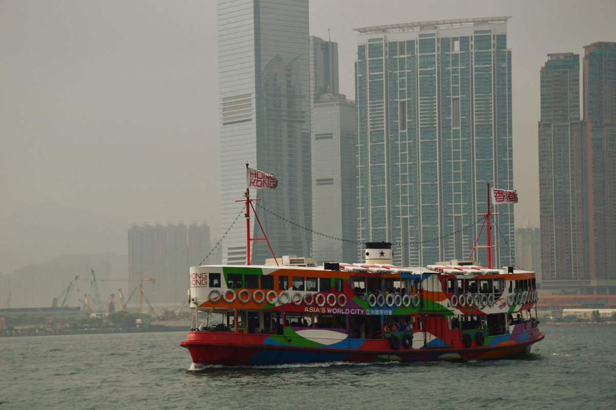 Hong Kong ferry Double-Barrelled Travel