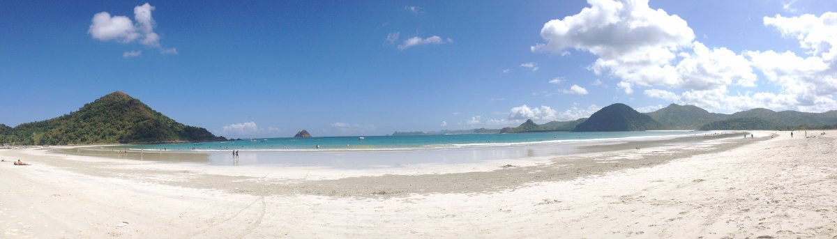 Lombok beach Double-Barrelled Travel