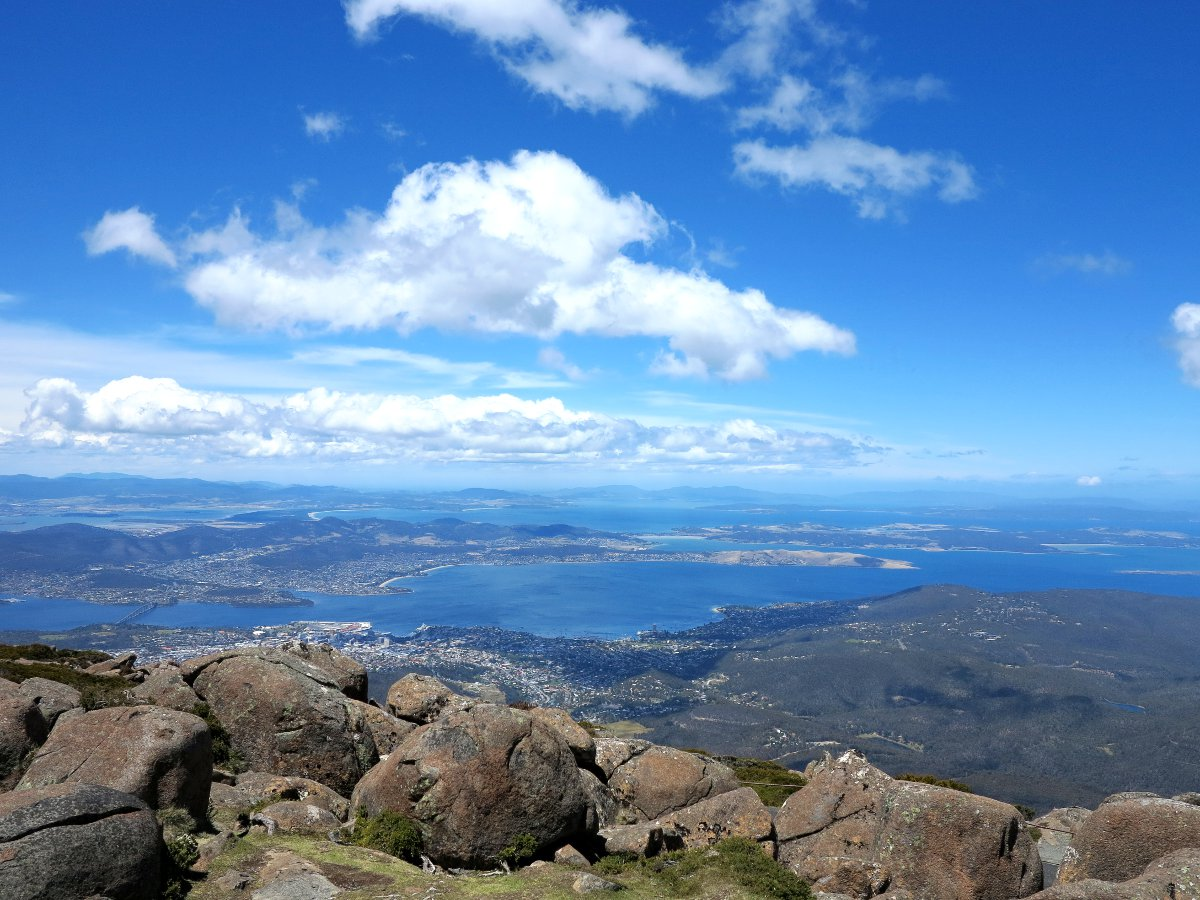 Mount Wellington Tasmania Double-Barrelled Travel