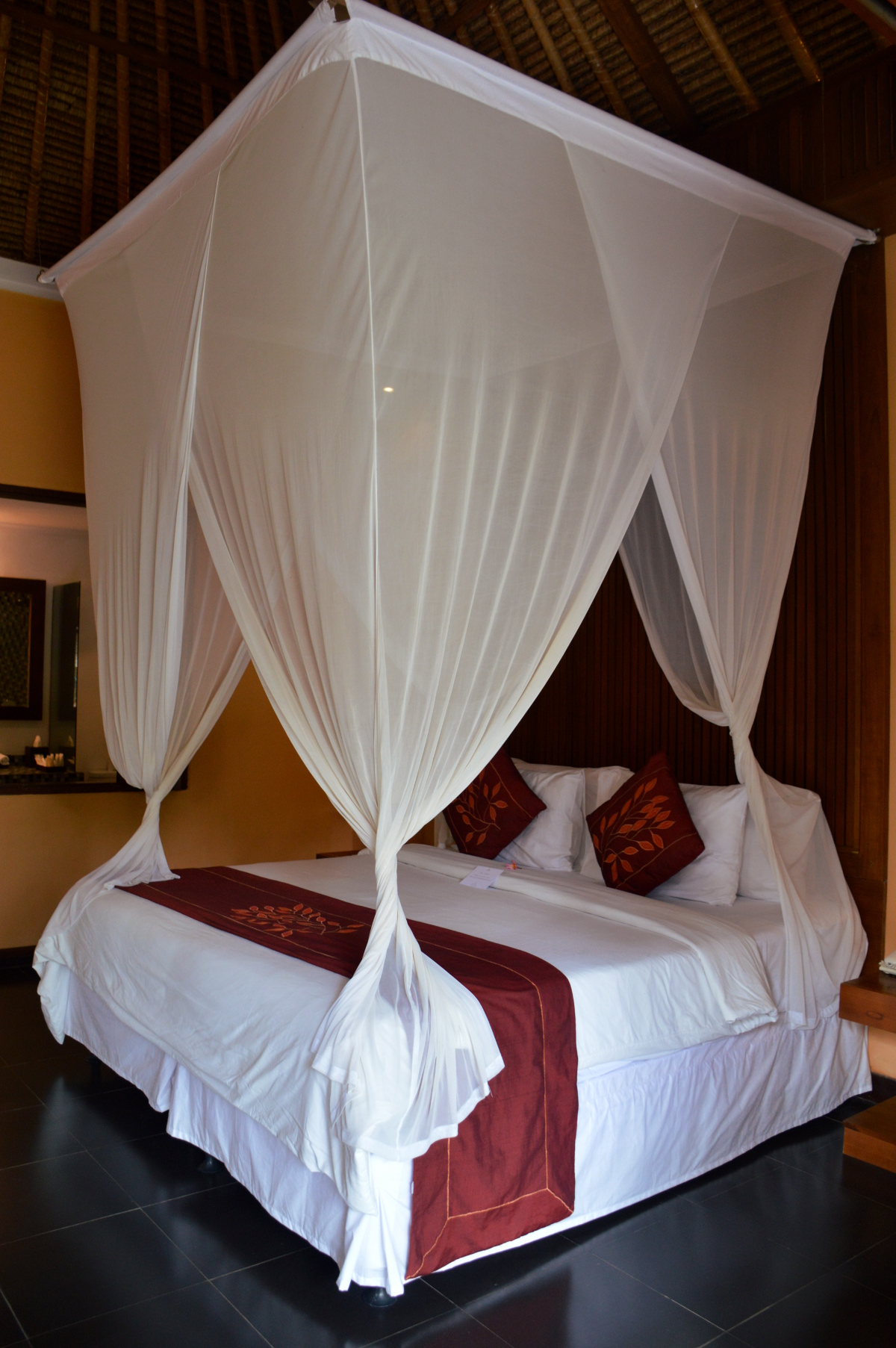 Nirwana Resort and Spa Candidasa bedroom Double-Barrelled Travel