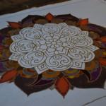 Painting process Batik painting Ubud Double-Barrelled Travel
