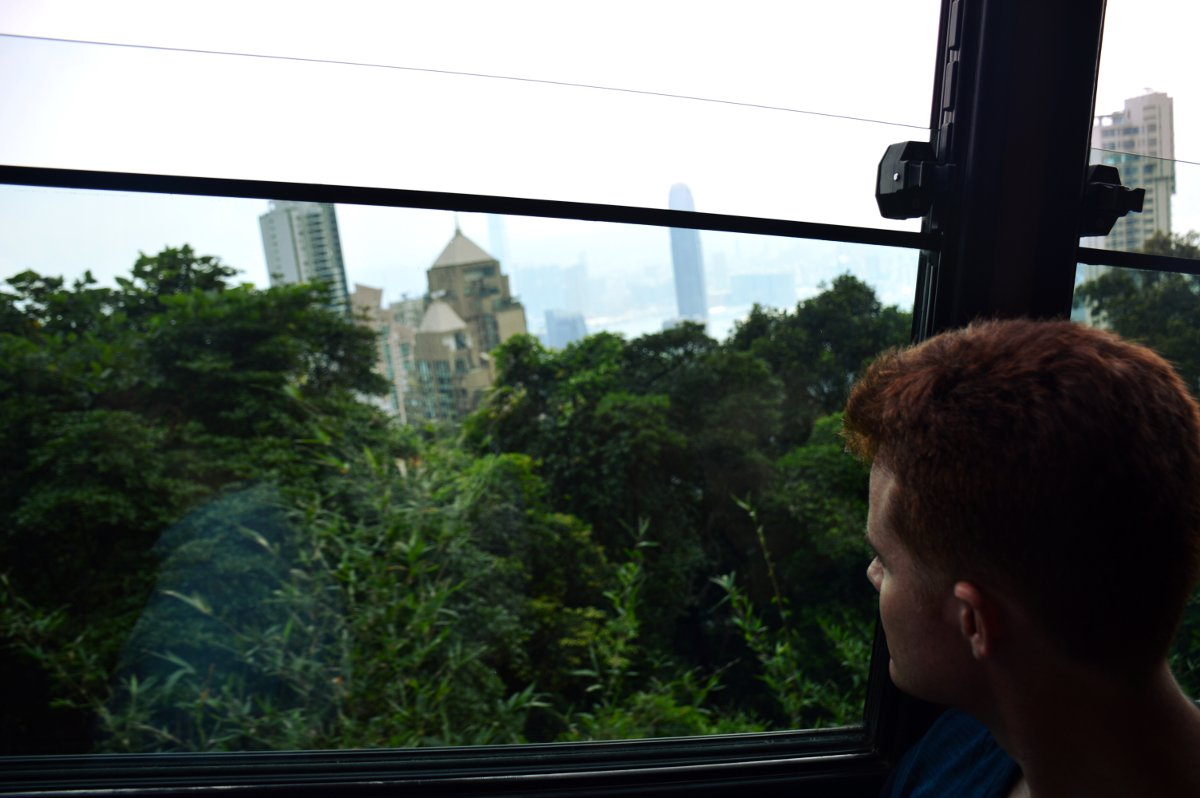 Peak Tram Hong Kong Double-Barrelled Travel