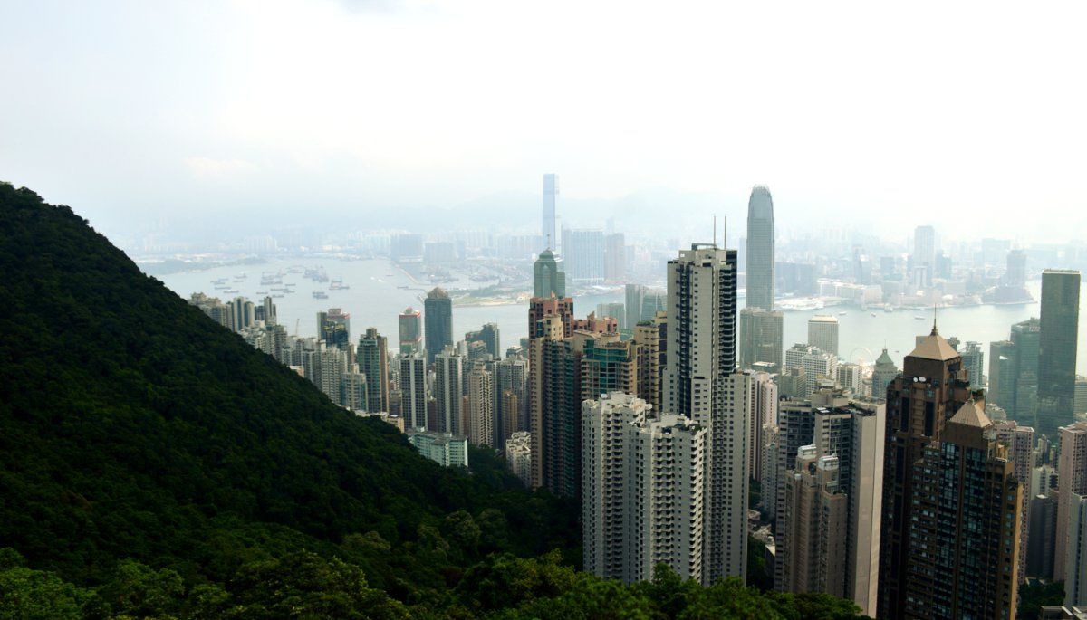 Peak view Hong Kong Double-Barrelled Travel