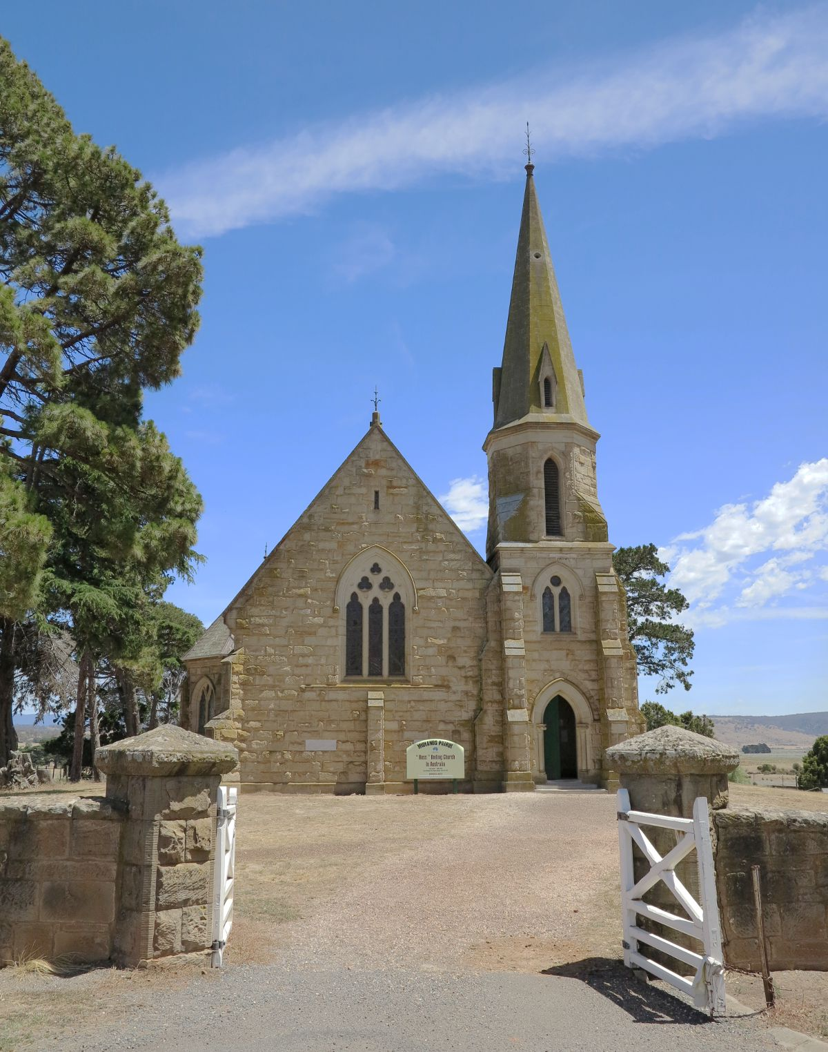 Ross church Tasmania Double-Barrelled Travel