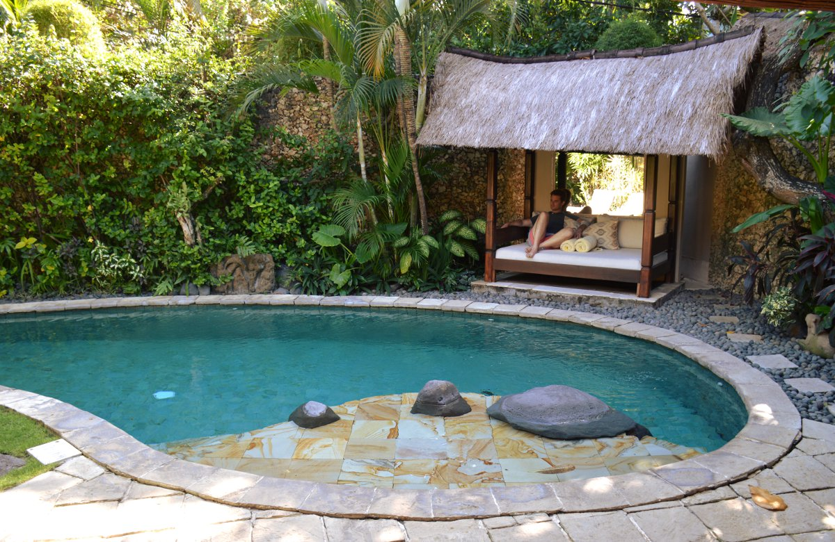 Villa Kubu Seminyak Bali private pool Double-Barrelled Travel
