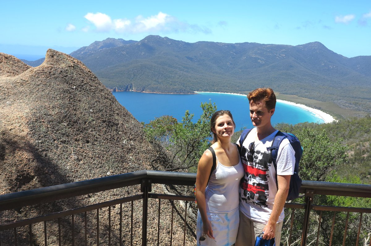 Wineglass Bay Carmen and Dave Double-Barrelled Travel