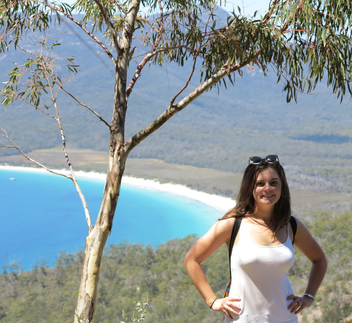 Wineglass Bay Carmen view Double-Barrelled Travel