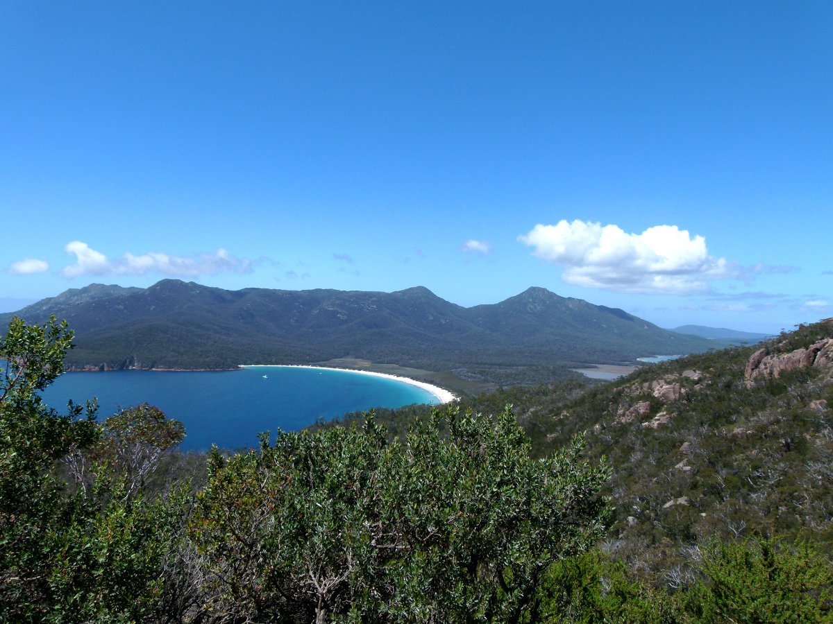 Wineglass Bay Tasmania Double-Barrelled Travel
