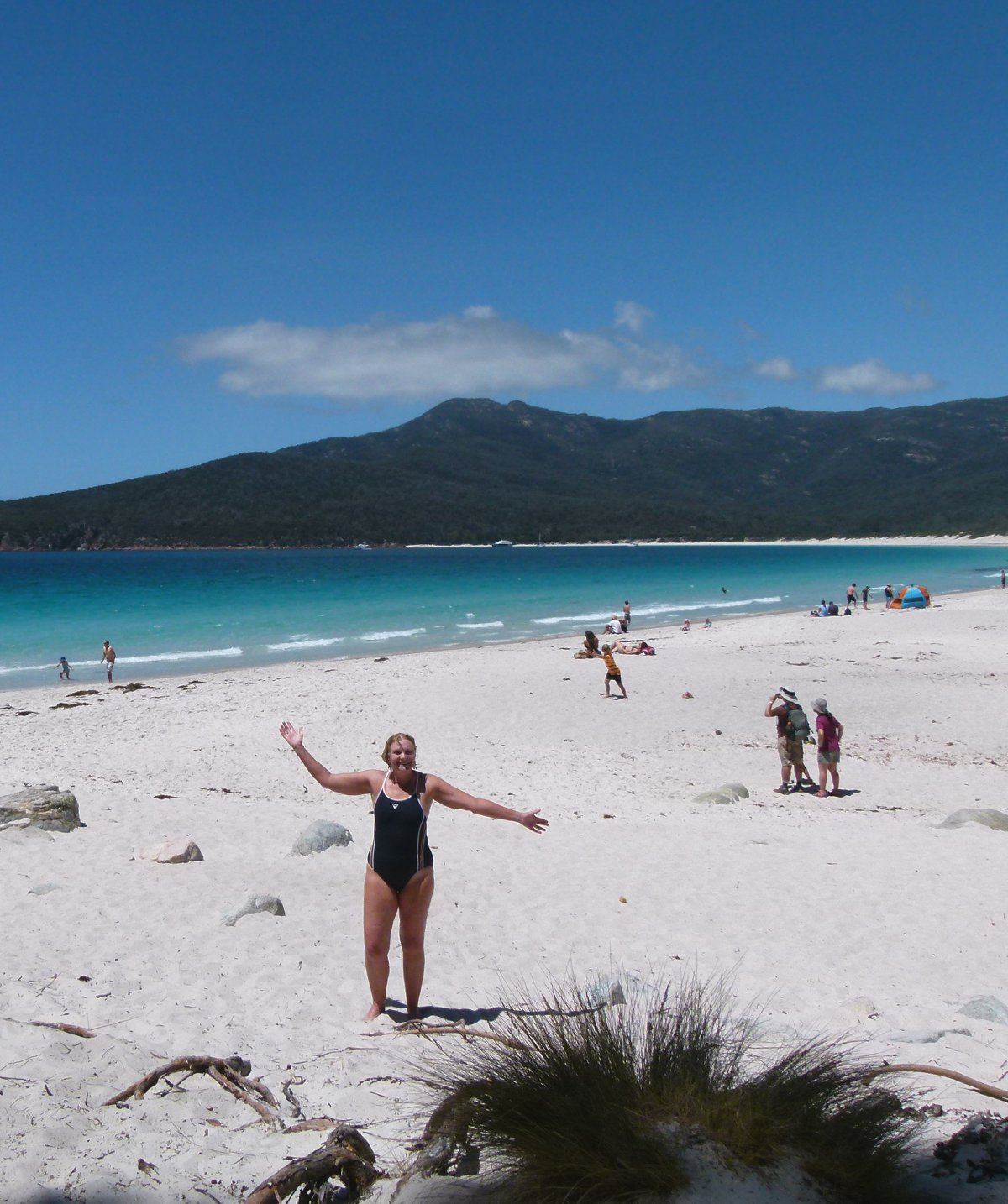 Wineglass Bay beach Tasmania Double-Barrelled Travel