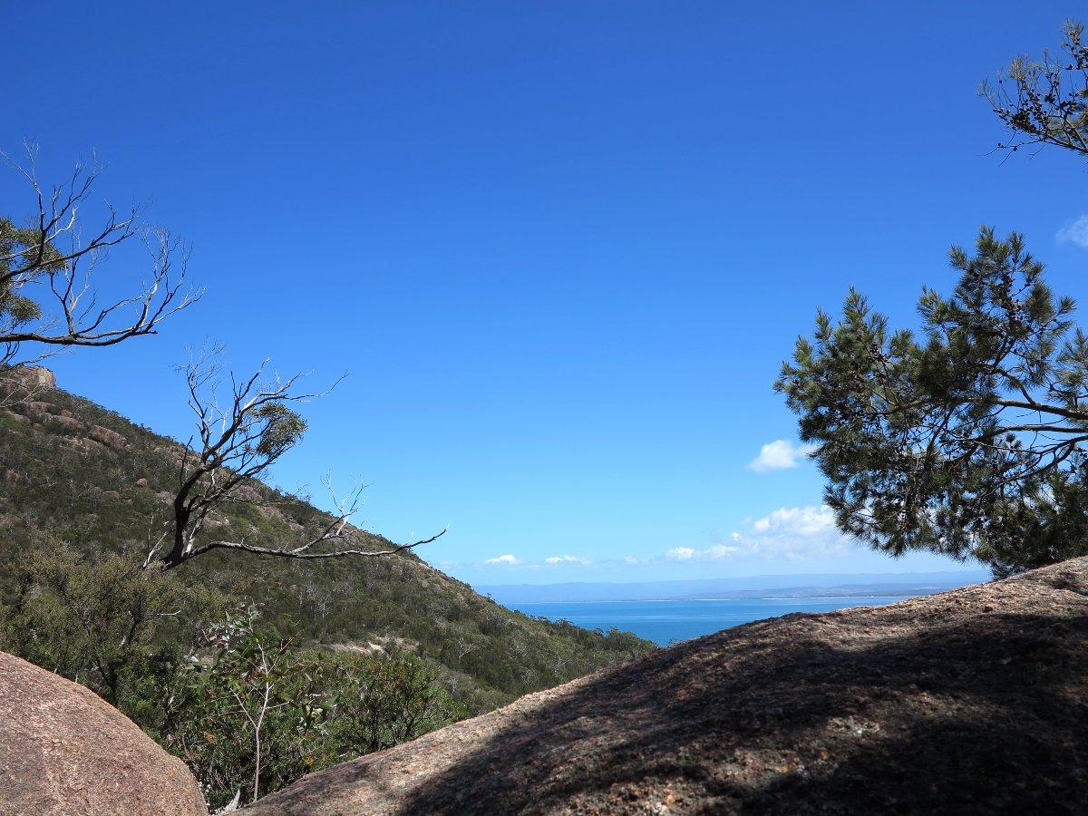 Wineglass Bay hike Tasmania Carmen and Dave Double-Barrelled Travel