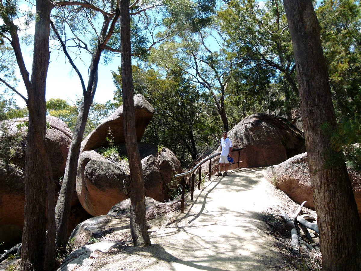 Wineglass Bay hike bush Double-Barrelled Travel