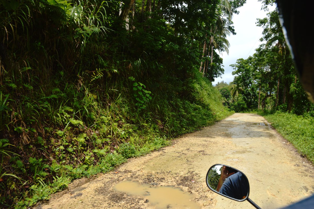 Bohol scooter Philippines Double-Barrelled Travel