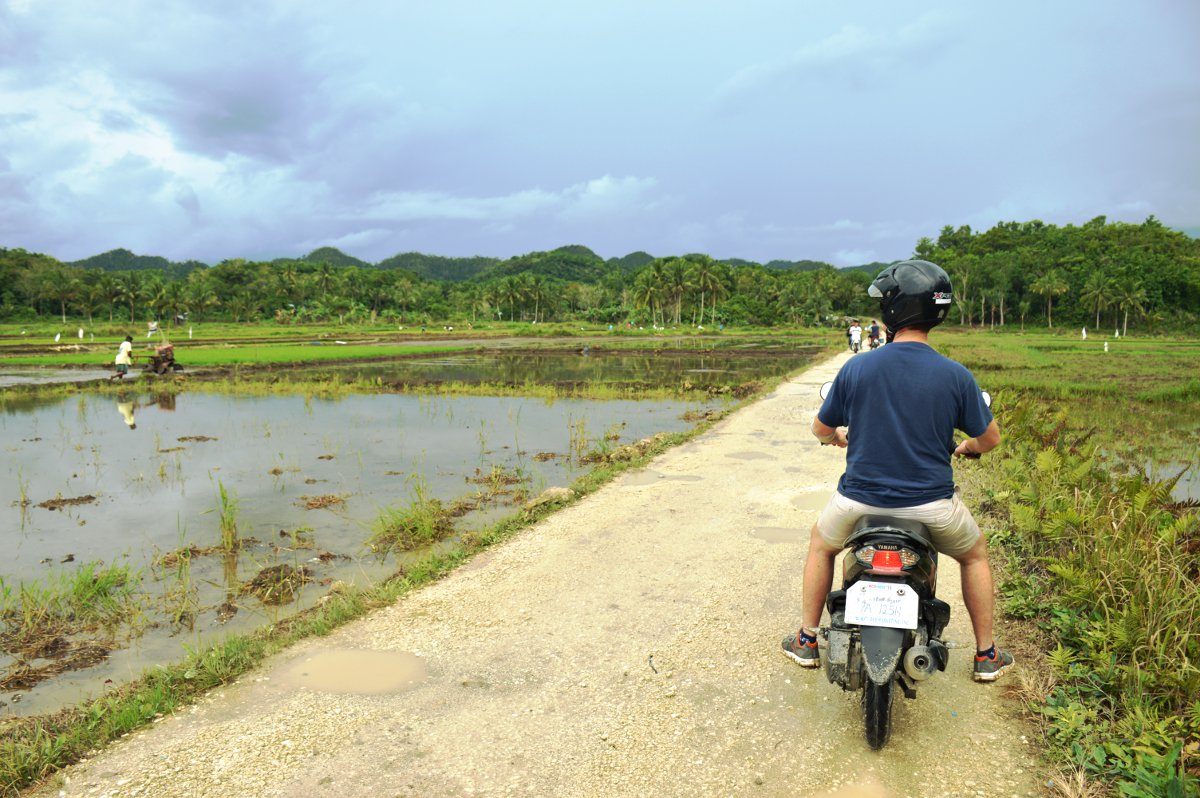 Bohol scooter South East Asia Double-Barrelled Travel
