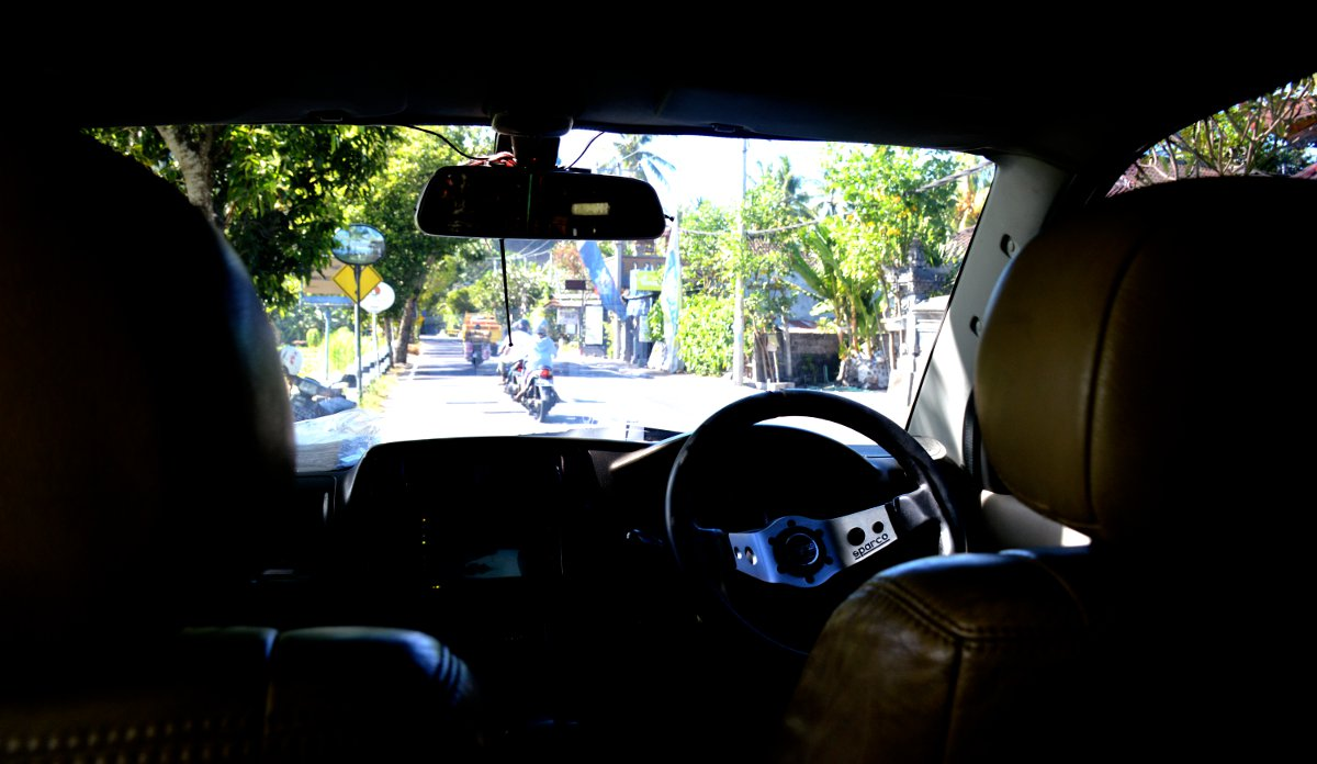 Car in Bali South East Asia Double-Barrelled Travel