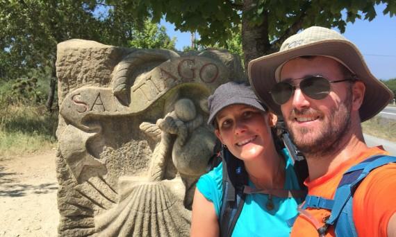 Craig and Linda in Santiago