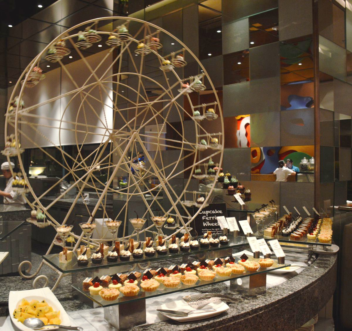 Dessert table Radisson Blu Cebu Double-Barrelled Travel