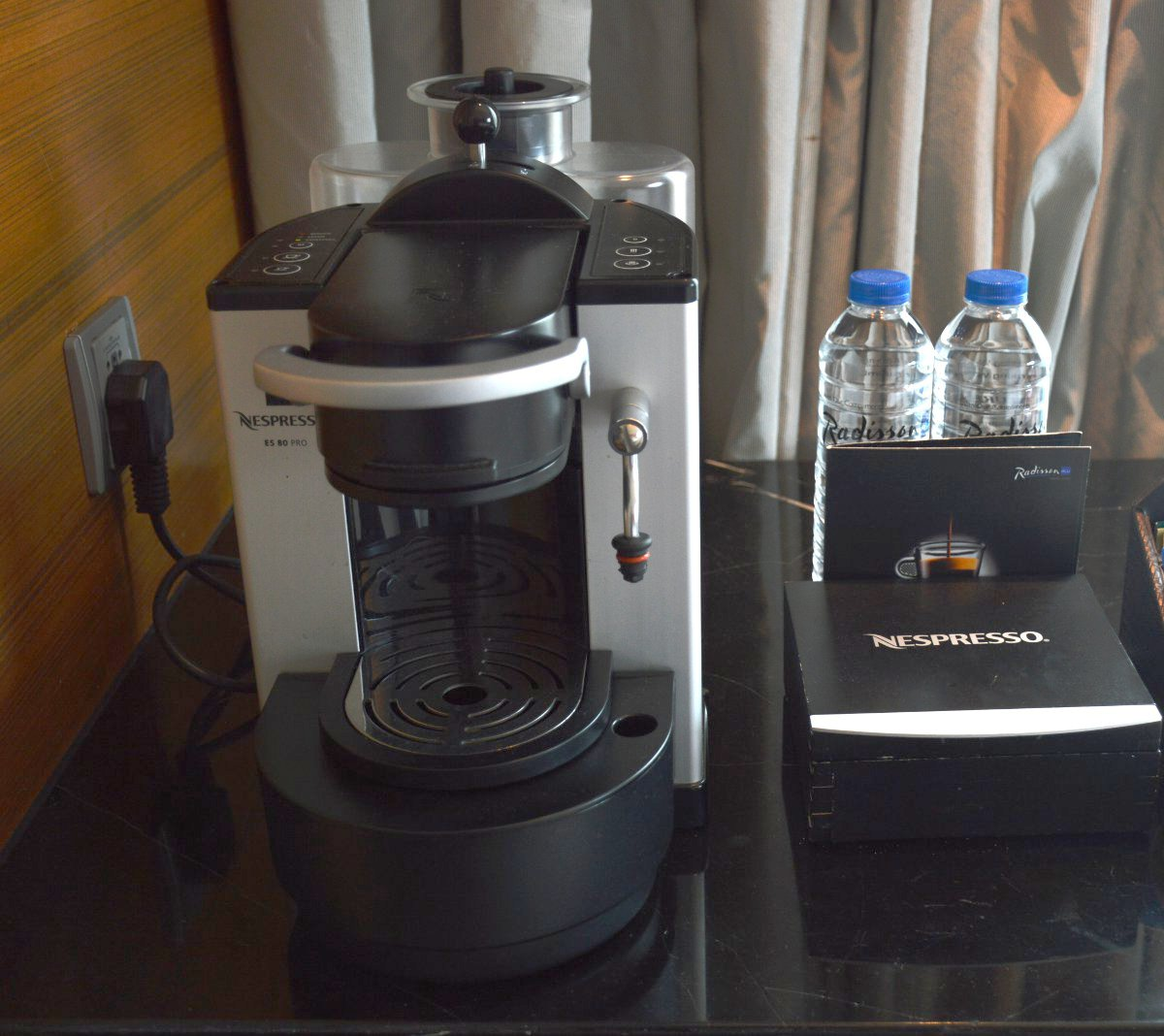 Nespresso machine Radisson Blu Cebu Double-Barrelled Travel